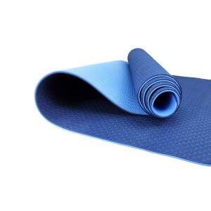 Anti-tear Eco-friendly TPE Double Layered Yoga Mat Platinum Sports
