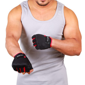 Body Attack Fitness Weight Lifting Gloves Platinum Sports