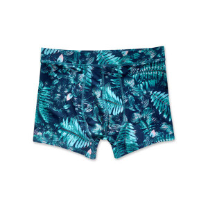 Sublimation Printed Men's Trunk Green Palm