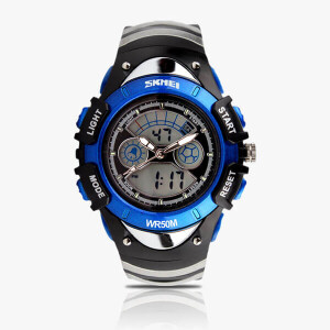 Digital Dual Time Women Watches-0998